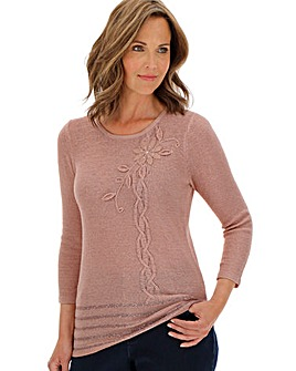 Slimma Embellished Jumper