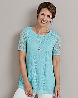 Swing Lace Top