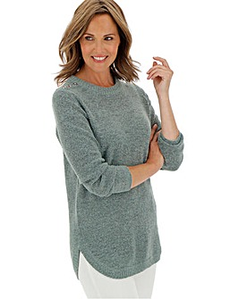Boucle Tunic Jumper