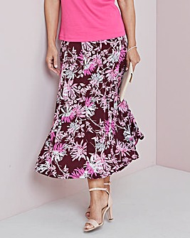 Panelled Jersey Skirt 27