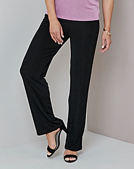 Julipa Black Slinky Trousers 29