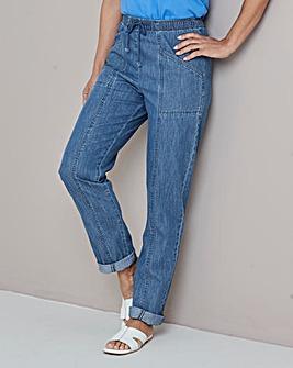 Julipa Stonewash Drawcord Jeans