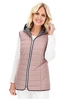 Julipa Pink Gilet with Hood
