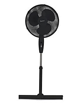 Signature 16 Inch Black Stand Fan