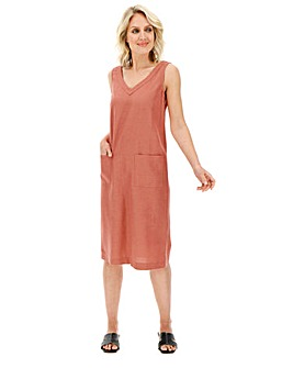 Julipa Linen Shift Dress