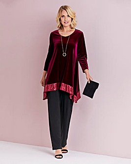 Julipa Velour Tunic