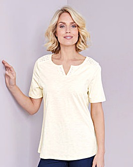 Julipa Lace Insert T-Shirt