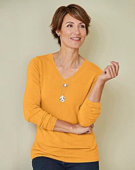 Julipa V-Neck Super Soft Jumper