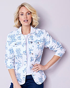 Julipa Printed Denim Jacket