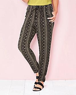 Julipa Aztec Print Trousers 27