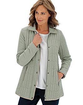 Slimma Padded Microfibre Jacket