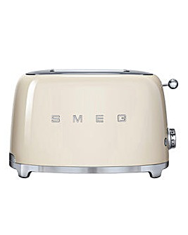 Smeg TSF01 2 Slice Cream Toaster