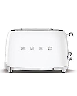 Smeg TSF01 2 Slice White Toaster