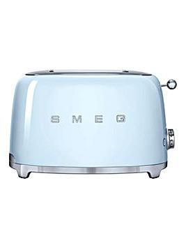 Smeg TSF01 2 Slice Blue Toaster