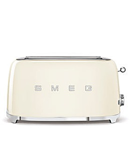 Smeg TSF02 4 Slice Cream Toaster