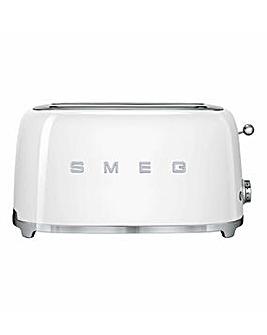 Smeg TSF02 4 Slice White Toaster