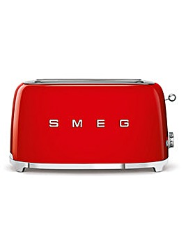 Smeg TSF02 4 Slice Red Toaster