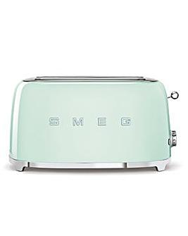 Smeg TSF02 4 Slice Green Toaster