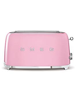 Smeg TSF02 4 Slice Pink Toaster