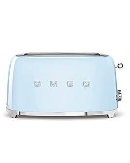 Smeg TSF02 4 Slice Blue Toaster