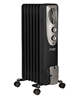 Russell Hobbs RHOFR5001B 1.5kW Oil Filled Radiator