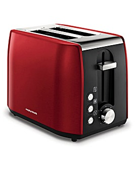 Morphy Richards 222060 Equip Red 2 Slice Toaster