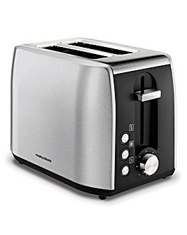 Morphy Richards 222057 Equip Brushed Steel 2 Slice Toaster