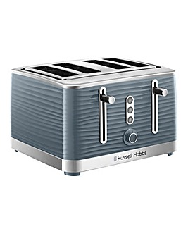 Russell Hobbs 24383 Inspire Grey 4 Slice Toaster