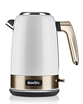 Breville VKT142 New York Collection White and Pale Gold Kettle