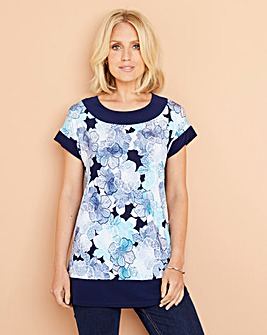 Julipa Printed Jersey Tunic
