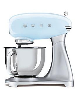 Smeg SMF02 Retro Style Blue Stand Mixer