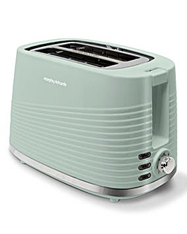 Morphy Richards 220028 Dune 2 Slice Sage Green Toaster