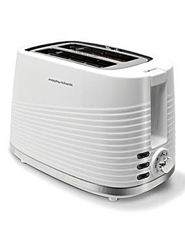 Morphy Richards 220029 Dune 2 Slice White Toaster