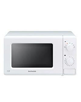 Daewoo KOR6M17R 700W White Microwave