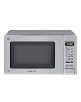 Daewoo 800W Steel Touch Microwave