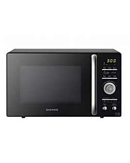 Daewoo 900W Black Dual Wave Microwave