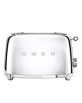 Smeg TSF01 2 Slice Steel Toaster