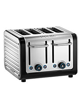 Dualit 46505 Architect Black 4 Slot Toaster