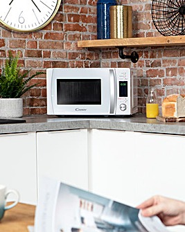 Candy 20 Litre Digital White Microwave