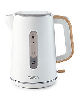 Tower Scandi Rapid Boil White Kettle