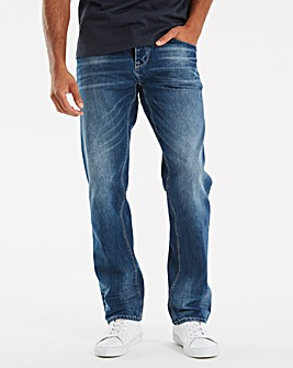 Firetrap Kamito Straight Jean 29 In