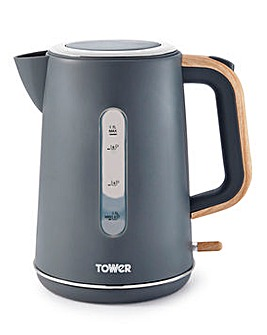 Tower Scandi Rapid Boil Grey Kettle