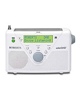 Roberts Solar DAB/FM Solar Powered Radio