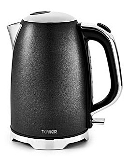 Tower Glitz Sparkle Black Kettle