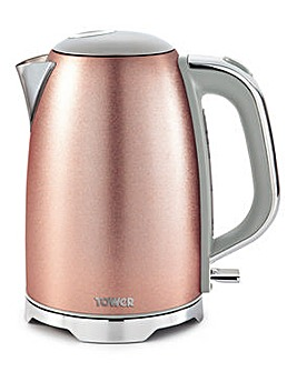Tower Glitz Sparkle Blush Pink Kettle