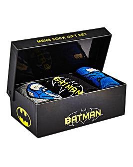 Batman Gift Boxed Socks