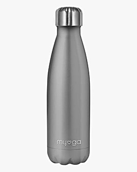 Myga Metal Drinks Bottle - Grey