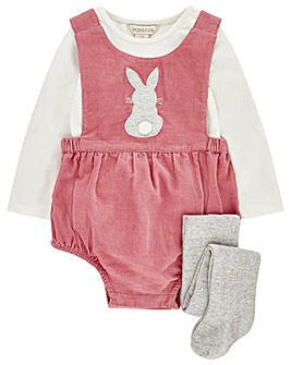Monsoon Nb Baby Nancy Romper