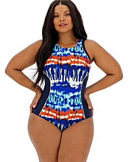 High Neck Sports Swimsuit - Long