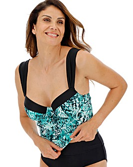 MAGISCULPT Underwired Tankini Top